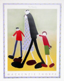 Family Plakater af Mackenzie Thorpe