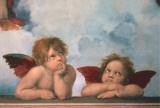 Cherubini Julisteet tekijänä Raphael,