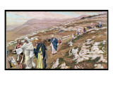 Jesus on His Way to Galilee, Illustration for 'The Life of Christ', C.1886-96 Giclee Print by James Tissot