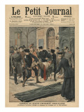 Drunkards in Berlin, Illustration from 'Le Petit Journal', Supplement Illustre, 17th March 1907 Giclee Print by  French School