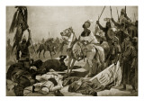 Hyder Ali at Conjeveram, 1780, Illustration from 'Hutchinson's Story of the British Nation', C.1923 Giclee Print by Richard Caton Woodville II