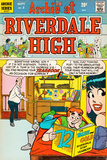 Archie Comics Retro: Riverdale High Comic Book Cover No.2 (Aged) Plakater
