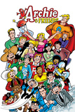 Archie Comics Cover: Archie & Friends No.138 A Night At The Comic Shop Plakater av Fernando Ruiz