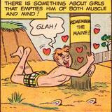 Archie Comics Retro: Archie Comic Panel; Glah! (Aged) Láminas