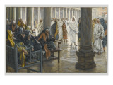 Woe Unto You, Scribes and Pharisees, Illustration from 'The Life of Our Lord Jesus Christ', 1886-94 Giclée-vedos tekijänä James Tissot