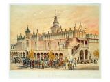 The Sukiennice, Krakow, from 'Klejnoty Miasta Krakowa', Published 1899 Giclee Print by Juliusza & Tondosa, Stanislawa Kossaka