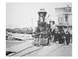 The Funeral Train Carrying President Lincoln's Lámina giclée por  American Photographer