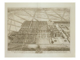 Badminton House in the County of Gloucester, Engraved by Johannes Kip Giclee Print by Leonard Knyff