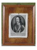 Trompe L'Oeil Still Life of a Print of Charles I Lámina giclée por Evert Collier