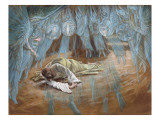 The Agony in the Garden, Illustration for 'The Life of Christ', C.1886-94 Giclee Print by James Tissot
