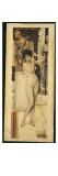 Skigge Und Eingelstudie Fur Die Allegorie Der Skulptor, 1890 Giclée-Druck von Gustav Klimt