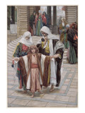 Jesus Found in the Temple, Illustration for 'The Life of Christ', C.1886-94 Giclee Print by James Tissot