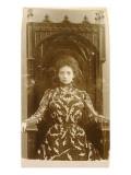 Portrait of the Actress Vera Komissarzhevskaya Giclée-tryk af  Russian Photographer