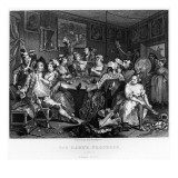 The Orgy, Plate Iii from 'A Rake's Progress' Giclee Print by William Hogarth