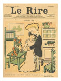 True Love, from the Front Cover of 'Le Rire', 29th July 1899 Giclee Print by Emmanuel Poire Caran D'ache