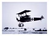 Captain Baron Von Richthofen Landing His Fokker Triplane Giclee Print by  German photographer
