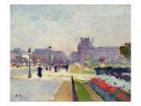 Avenue Paul Deroulede, Tuileries, Paris Giclee Print by Jules Ernest Renoux
