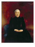 Madame Bonnat, the Artist's Mother, 1893 Giclée-vedos tekijänä Leon Joseph Florentin Bonnat