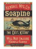 Poster Advertising Kendall Mfg. Co's 'soapine', C.1890 Reproduction procédé giclée par  American School