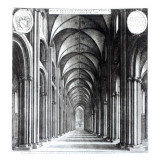 Interior of the Nave of St. Paul's, 1658 Lámina giclée por Wenceslaus Hollar