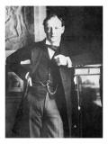 Winston Spencer Churchill in 1904 Gicléedruk van  English Photographer