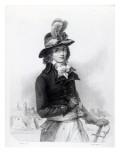 Louis Antoine De Saint-Just, Engraved by Bosselman Giclee Print by Denis Auguste Marie Raffet