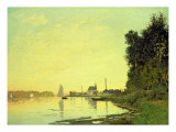 Argenteuil, at the End of the Afternoon, 1872 Giclee Print by Claude Monet