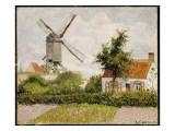 Windmill at Knokke, Belgium, 1894 Reproduction procédé giclée par Camille Pissarro