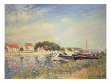 The Banks of the Loing at Saint-Mammes, 1885 Giclee Print by Alfred Sisley