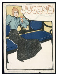 Front Cover of Jugend Magazine, January 1898 Giclee Print by  German School