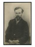 Portrait of Fyodor Mikhaylovich Dostoievsky Giclée-tryk af  Russian Photographer