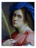 Self Portait as a Martyr, C.1615 Giclee-trykk av Artemisia Gentileschi