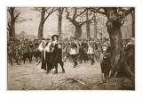 Charles I on His Way to Execution Giclee Print by Ernest Crofts