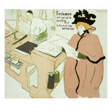 Cover for 'L'Estampe Originale', 1893 Lámina giclée por Henri de Toulouse-Lautrec