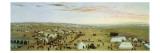 The Uruguaiana Camp, Rio Grande, Brazil, 1865 Giclée-tryk af Candido Lopez