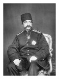 Naser Al-Din Shah Qajar of Persia Giclee Print by  English Photographer