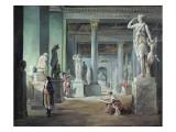 The Salle Des Saisons at the Louvre, C. 1802 Reproduction procédé giclée par Hubert Robert