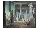 The Salle Des Saisons at the Louvre, C. 1802 Giclee Print by Hubert Robert