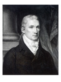 James Monroe, Engraved by Thomas Gimbrede Gicléedruk van  American School