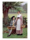 The Lord of Burleigh, Tennyson, 1919 Giclee Print by Edmund Blair Leighton