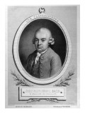 Portrait of Karl Philipp Emmanuel Bach Reproduction procédé giclée par  French School