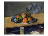 Apples, Pears and Grapes, C.1879 Giclée-Druck von Paul Cézanne