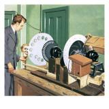 John Logie Baird, Pioneer of Television Giclee Print by John Keay