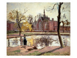 Dulwich College, London, 1871 Reproduction procédé giclée par Camille Pissarro
