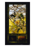 Parakeets and Gold Fish Bowl, C.1893 Giclee Print by Louis Comfort Tiffany