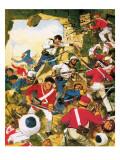 Twilight of an Empire: Delhi Retaken Giclee Print by C.l. Doughty