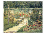 The Bench in the Garden of Versailles, 1881 Giclee Print by Edouard Manet