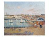 The Outer Harbour at Dieppe, 1902 Reproduction procédé giclée par Camille Pissarro