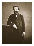 Guiseppe Verdi, 1860 Gicléedruk van  Nadar