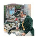 Ludwig Van Beethoven Giclee Print by  Payne